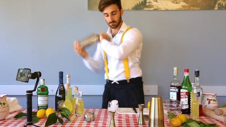 ONLINE..Italian Aperitif and Cocktail lessons