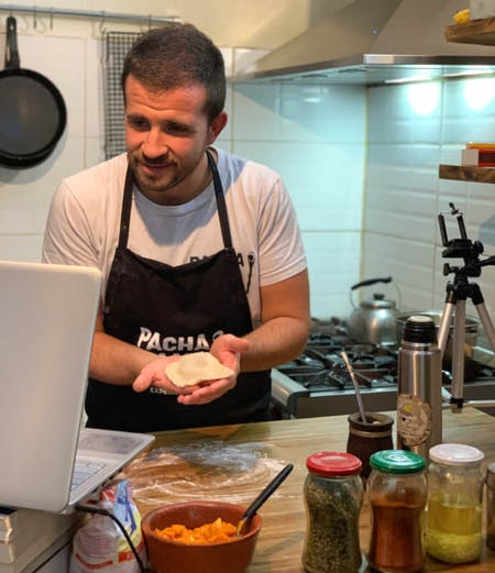 Argentine Online Cooking Experience (Empanadas & Chimichurri).