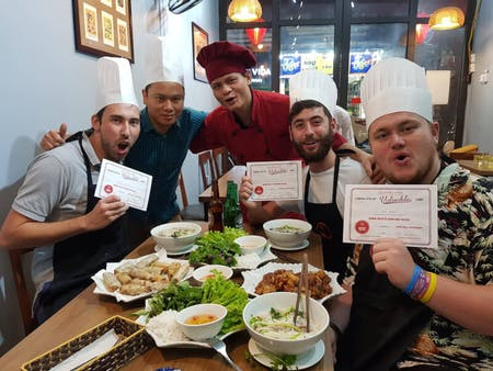 Online Hanoi daily cooking class - Traditonal Vietnamese dishes