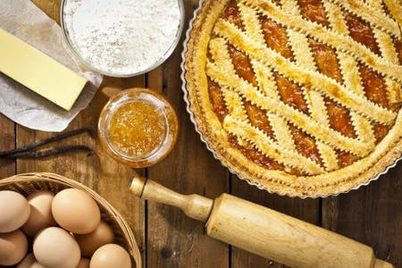 *online experience* Baking Italian Grandma Crostata and Cantucci biscuits