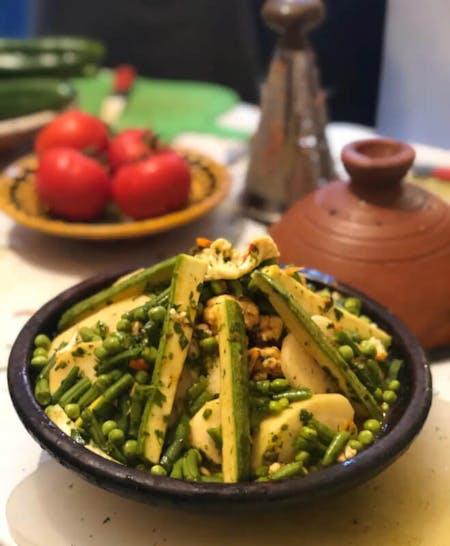 Make berber Tajine With Omar