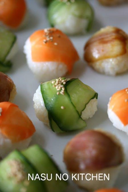 Ball Sushi Making!